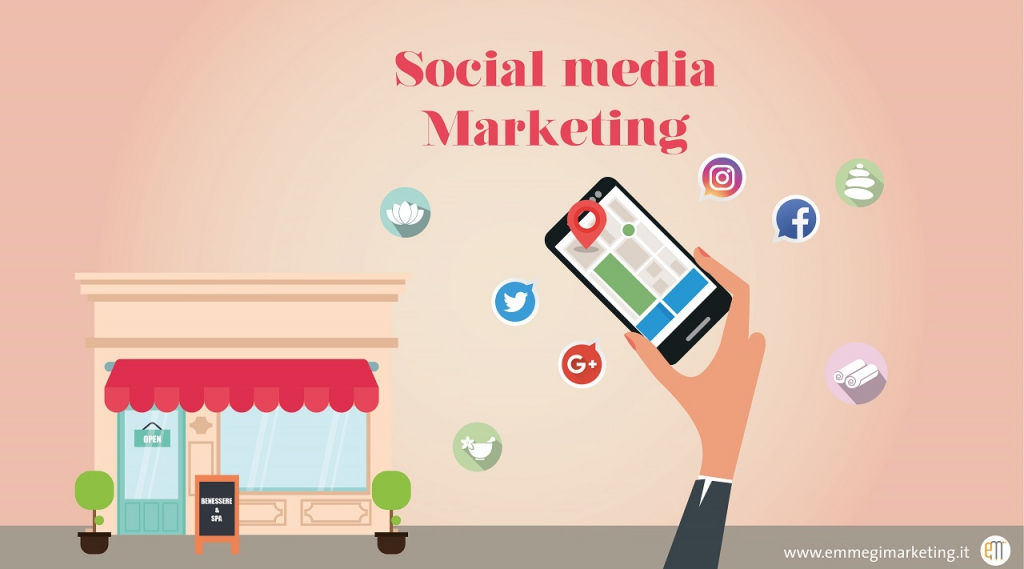 social media marketing per centri estetici